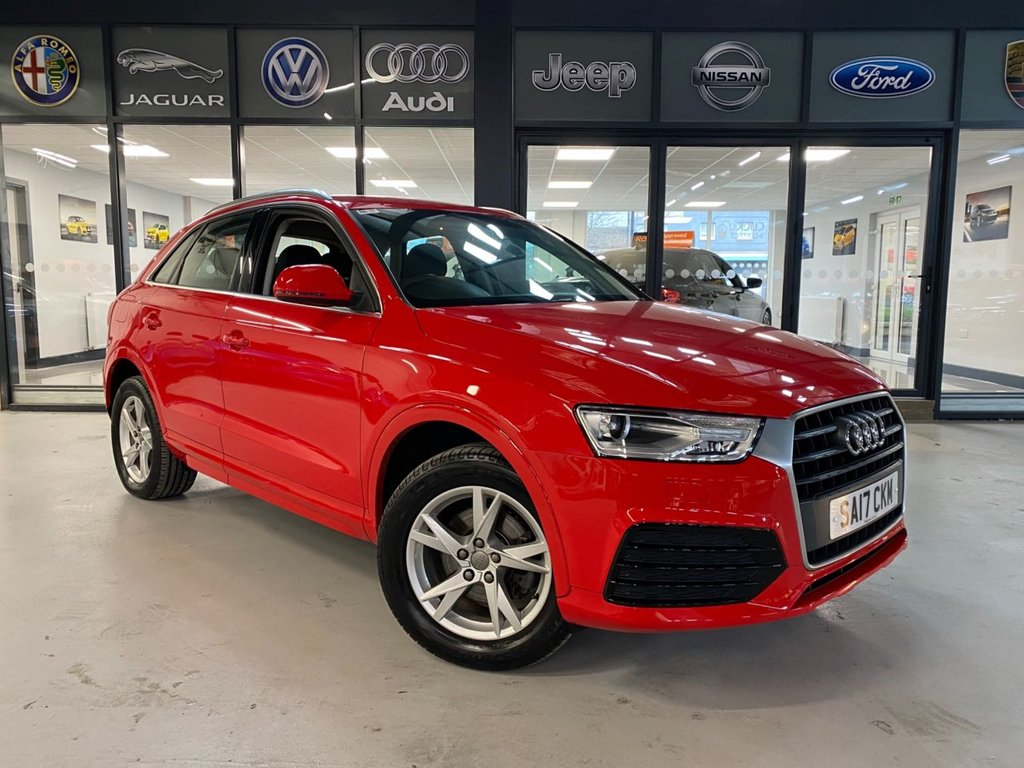 USED 2017 17 AUDI Q3 1.4 TFSI CoD Sport (s/s) 5dr Complementary 12 Months RAC Warranty and 12 Months RAC Breakdown Cover Also Receive a Full MOT With All Advisory Work Completed, Fresh Engine Service and RAC Multipoint Check Before Collection/Delivery