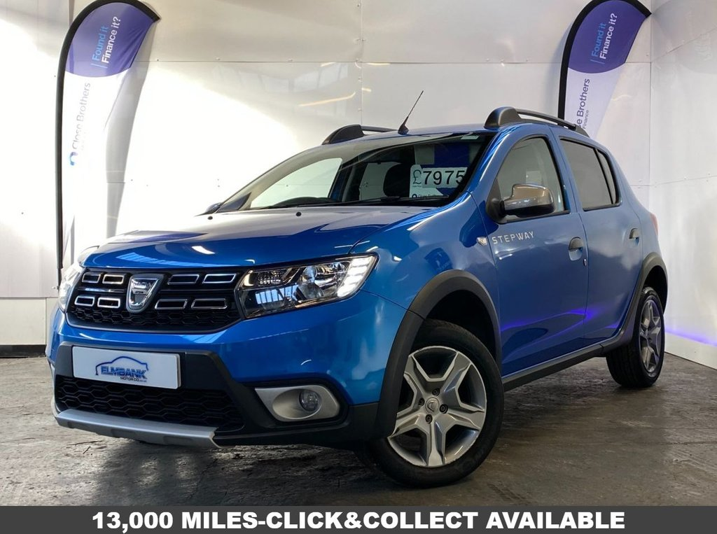 View our DACIA SANDERO STEPWAY