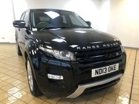 USED 2013 13 LAND ROVER RANGE ROVER EVOQUE 2.2 SD4 DYNAMIC 5d 5 Seat Family SUV AUTO with Sat Nav Bluetooth, Cruise Control, Electric Tailgate, Front & Rear Parking Sensors & Cameras, Fixed Panoramic Roof with Excellent Service History including 5 Land Rover Stamps and Recent Angus MacKinnon Service.Now Ready to Finance and Drive Away Today Excellent Service History + 1 Former Keeper