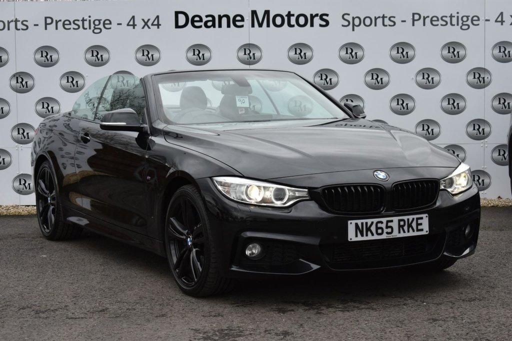 USED 2015 65 BMW 4 SERIES 2.0 420D M SPORT 2d 188 BHP M SPORT DESIGN PACK