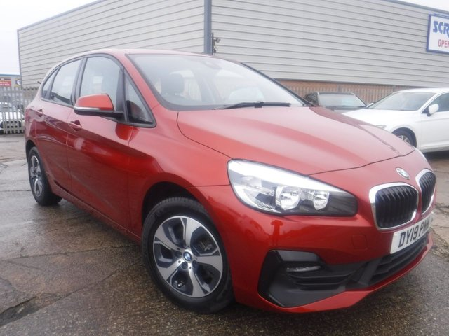 USED 2019 19 BMW 2 SERIES ACTIVE TOURER 2.0 220I SE ACTIVE TOURER 5d 190 BHP 1 OWNER*NAV*ELEC TAILGATE*BMW WARRANTY*BTOOTH*STOP/STAR