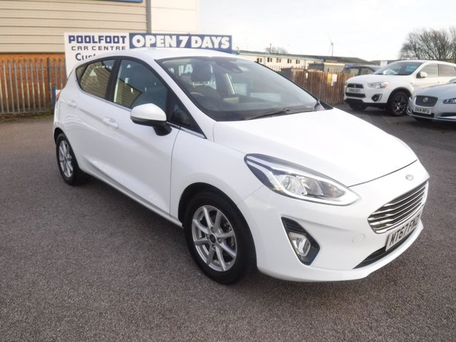 USED 2017 67 FORD FIESTA 1.1 ZETEC 5d 85 BHP 1 OWNER*NAV*CRUISE*BTOOTH*SERVICE HISTORY*AUTO LIGHTS