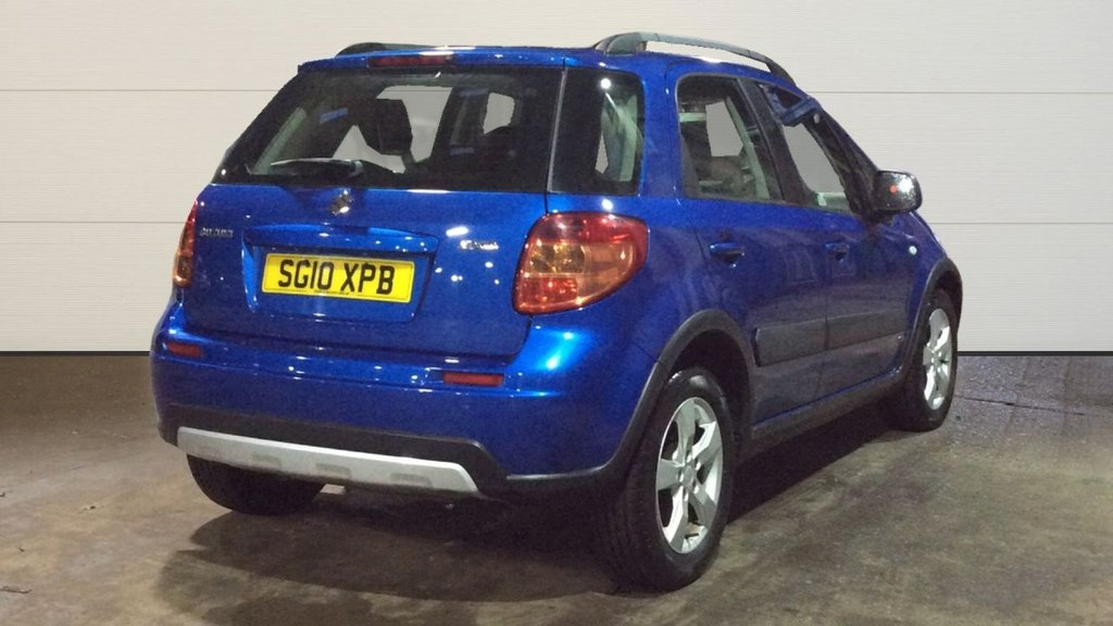 USED 2010 10 SUZUKI SX4 1.6 SZ4 5d 118 BHP ONLY 2 PRE OWNERS, JUST 55K MILES FROM NEW - BREAKDOWN COVER AND WARRANTY INCLUDED