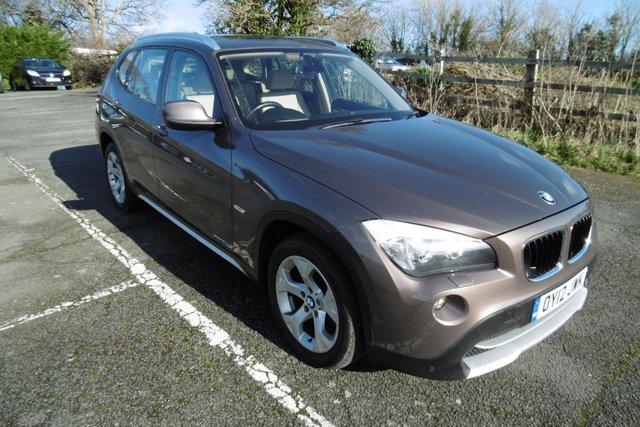 USED 2012 12 BMW X1 2.0 X-DRIVE 20D SE 5d 174 BHP AUTOMATIC