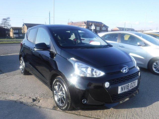 USED 2018 18 HYUNDAI I10 1.0 PREMIUM 5d 65 BHP *** FINANCE & PART EXCHANGE WELCOME *** 1 OWNER FROM NEW FULL SERVICE HISTORY HYUNDAI WARRANTY UNTIL JULY 2023 BLUETOOTH PHONE AIR/CON CRUISE CONTROL