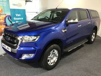 USED 2019 19 FORD RANGER 2.2 LIMITED 4X4 DCB TDCI 4d 158 BHP