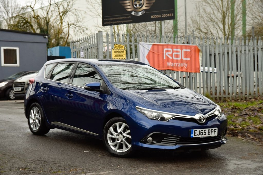 USED 2016 65 TOYOTA AURIS 1.2 VVT-I BUSINESS EDITION 5d 114 BHP