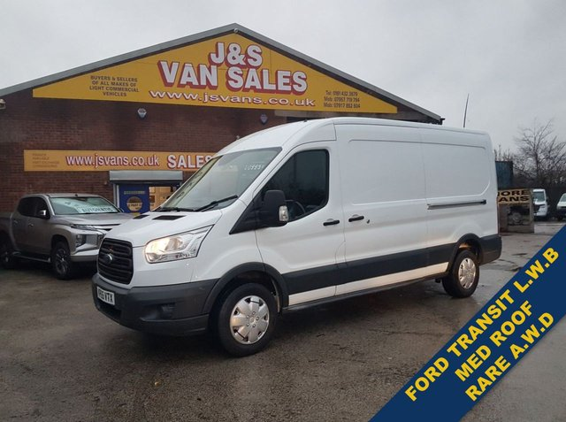 USED 2015 65 FORD TRANSIT 350 MED ROOF L3   RARE VAN ALL WHEEL DRIVE  RARE MODEL VAN ALL WHEEL DRIVE A.W.D