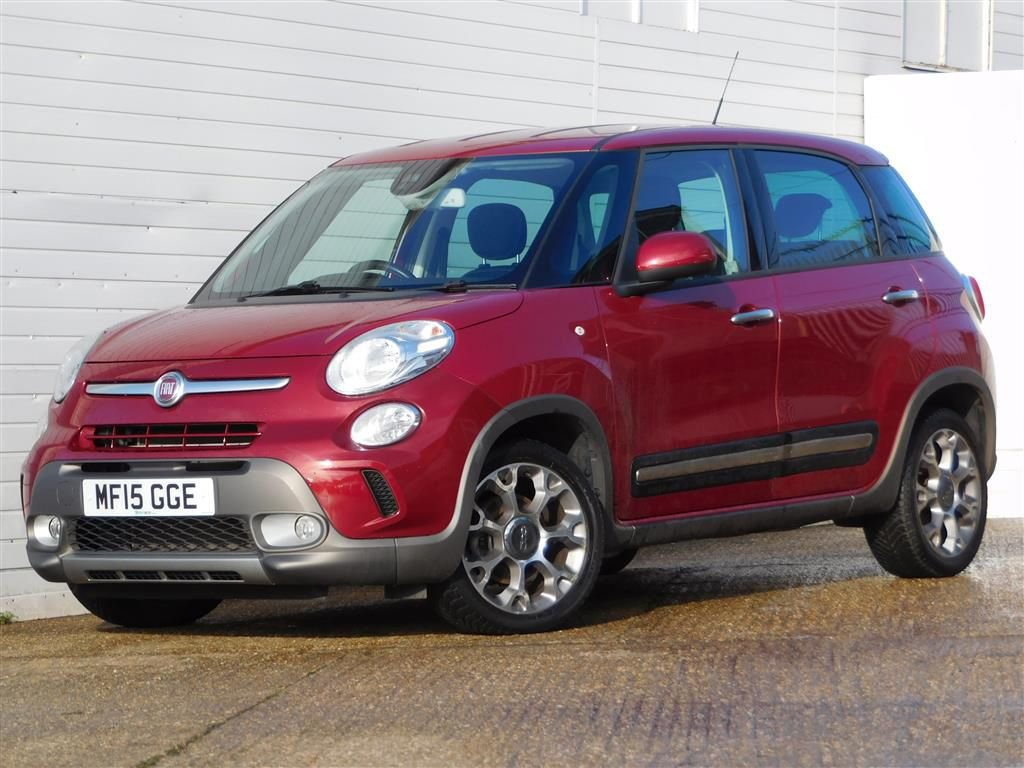 USED 2015 15 FIAT 500L 1.4 TREKKING 5d 95 BHP Buy Online Moneyback Guarantee