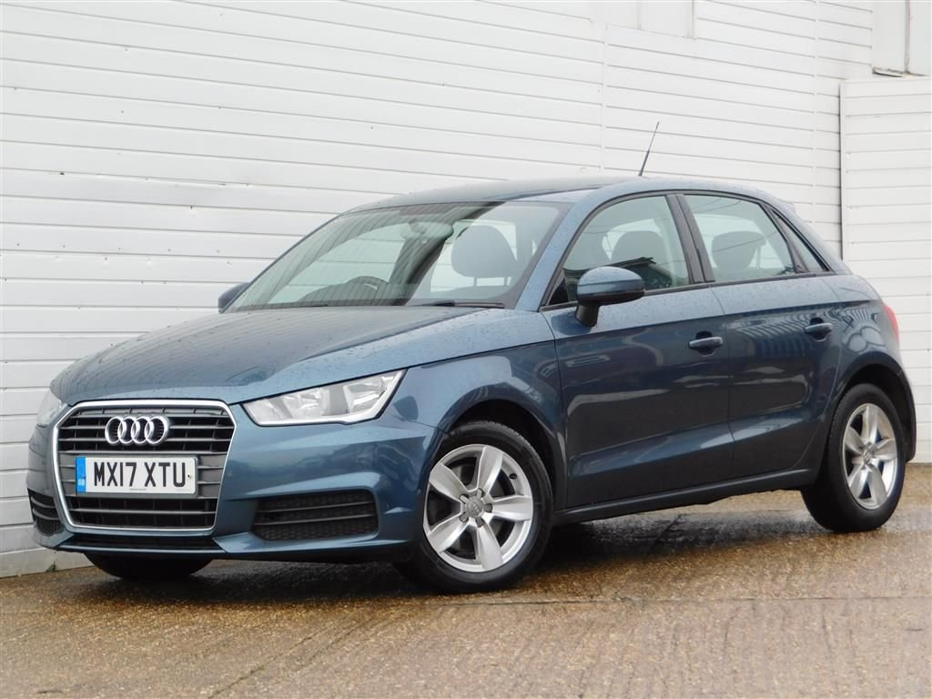 USED 2017 17 AUDI A1 1.6 SPORTBACK TDI SE 5d 114 BHP Buy Online Moneyback Guarantee