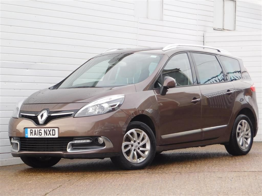 USED 2016 16 RENAULT GRAND SCENIC 1.6 DYNAMIQUE NAV DCI 5d 130 BHP Buy Online Moneyback Guarantee