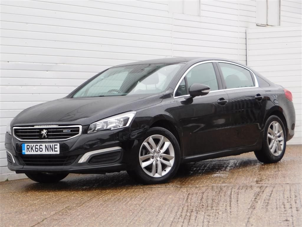 USED 2016 66 PEUGEOT 508 1.6 BLUE HDI ACTIVE 4d 120 BHP Buy Online Moneyback Guarantee