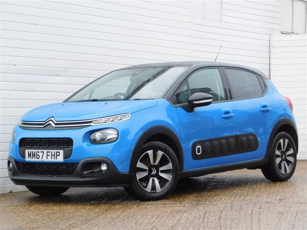 USED 2018 67 CITROEN C3 1.6 BLUEHDI FLAIR S/S 5d 98 BHP Buy Online Moneyback Guarantee