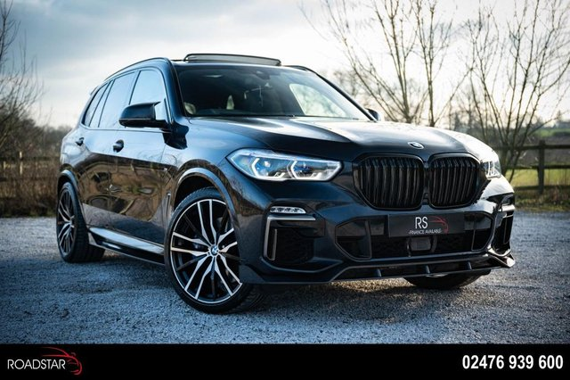 USED 2019 19 BMW X5 3.0 M50d Auto xDrive (s/s) 5dr FULLY LOADED+REAR DVD
