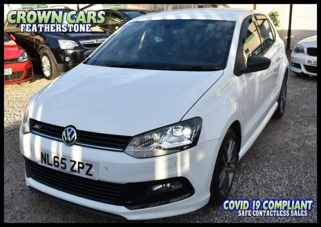 USED 2015 65 VOLKSWAGEN POLO 1.4 TDI BlueMotion Tech R Line (s/s) 5dr ONE FORMER WITH FSH