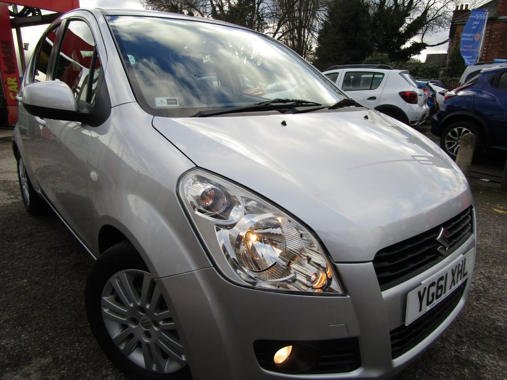 USED 2011 61 SUZUKI SPLASH 1.2 SZ4 5d 94 BHP low mileage auto ** stunning condition ** full service history ** just one owner ** Warranty included ** Rear park sensors ** AA breakdown ** Click & collect ** delivery possible **