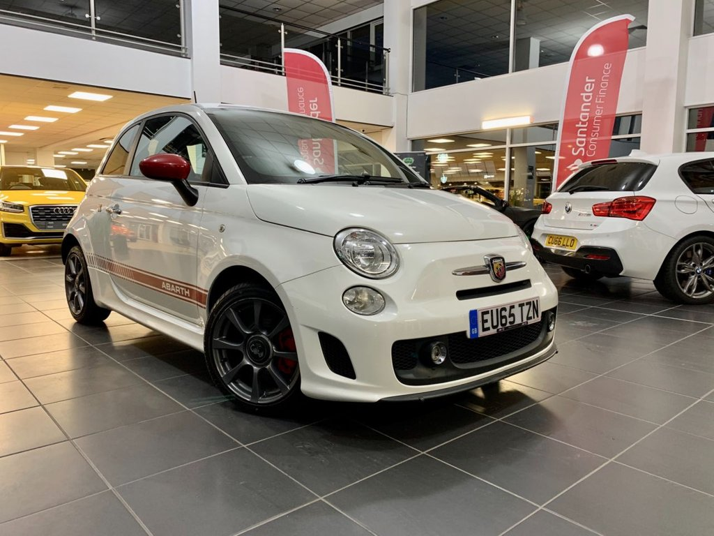 USED 2015 65 ABARTH 500 1.4 595 3d 138 BHP