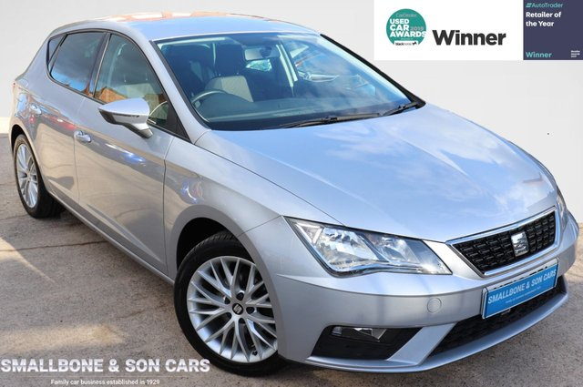 USED 2018 18 SEAT LEON 1.2 TSI SE DYNAMIC TECHNOLOGY 5d 109 BHP * BUY ONLINE * FREE NATIONWIDE DELIVERY *