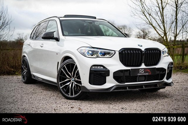 USED 2018 09 BMW X5 3.0 30d M Sport Auto xDrive (s/s) 5dr PAN ROOF+VERY BIG SPEC.