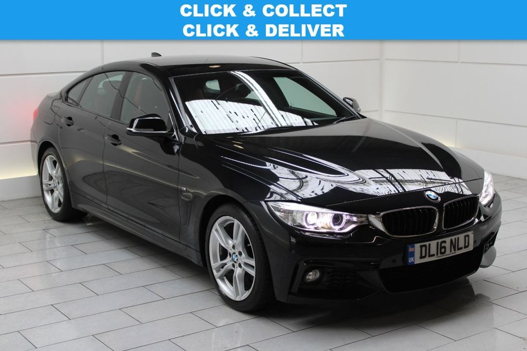 USED 2016 16 BMW 4 SERIES GRAN COUPE 2.0 420i M Sport Gran Coupe Auto (start/stop)