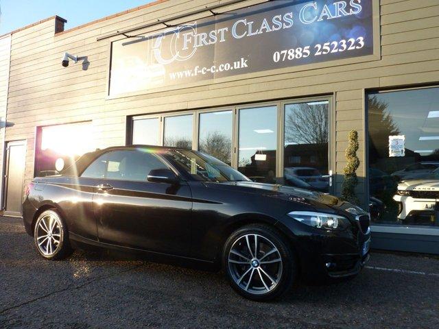 2019 19 BMW 2 SERIES 2.0 220D Sport Convertible 188BHP