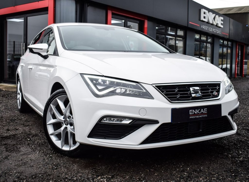 USED 2018 18 SEAT LEON 1.4 TSI FR TECHNOLOGY 5d 124 BHP  VAT QUALIFYING