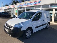 USED 2017 67 PEUGEOT PARTNER 1.6 BLUE HDI PROFESSIONAL L1 Panel Van with NO VAT TO PAY Full Service History, Rear and Side Loading Doors, Partial Plylining, Mesh Bulkhead, Rear Parking Sensors, Sat Nav & Bluetooth.Ready to Finance and Drive Away  1 Former Keeper + Full Service History