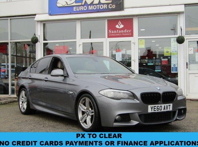 2010 60 BMW 5 SERIES 3.0 528I M SPORT 4d 255 BHP