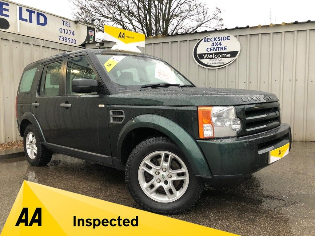 USED 2009 09 LAND ROVER DISCOVERY 3 2.7 3 TDV6 GS 5d 188 BHP AA INSPECTED. FINANCE. WARRANTY. 7 SEATER. MANUAL. LOW MILEAGE.