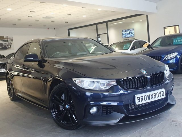 USED 2015 65 BMW 4 SERIES GRAN COUPE 3.0 435D XDRIVE M SPORT GRAN COUPE 4d 309 BHP BM PERFORMANCE STYLING+6.9%APR