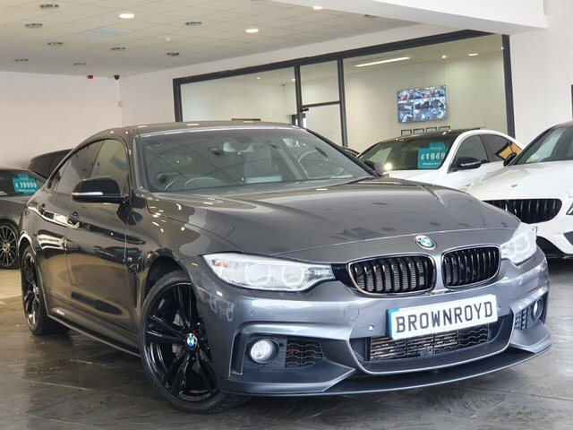 USED 2016 16 BMW 4 SERIES GRAN COUPE 3.0 435D XDRIVE M SPORT GRAN COUPE 4d 309 BHP BM PERFORMANCE STYLING+6.9%APR