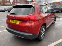 USED 2016 16 PEUGEOT 2008 1.6 BLUE HDI S/S ALLURE 5d 100 BHP 1 FORMER KEEPER, PART LEATHER