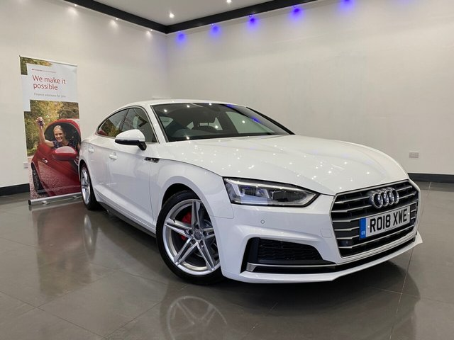 USED 2018 18 AUDI A5 1.4 SPORTBACK TFSI S LINE 5d 148 BHP S LINE INTERIOR AND EXTERIOR