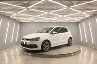 USED 2015 65 VOLKSWAGEN POLO 1.4 R LINE TDI BLUEMOTION 5d 89 BHP SAT/NAV, DAB, BLUETOOTH, XENONS - LED RUNNING LIGHTS, AUTO LIGHTS, HEATED SEATS, FRONT + REAR PARK, CRUISE, 7 SERVICES....