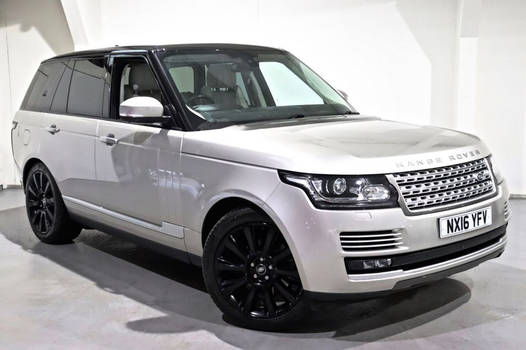 USED 2016 16 LAND ROVER RANGE ROVER 3.0 TDV6 AUTOBIOGRAPHY 5d 255 BHP