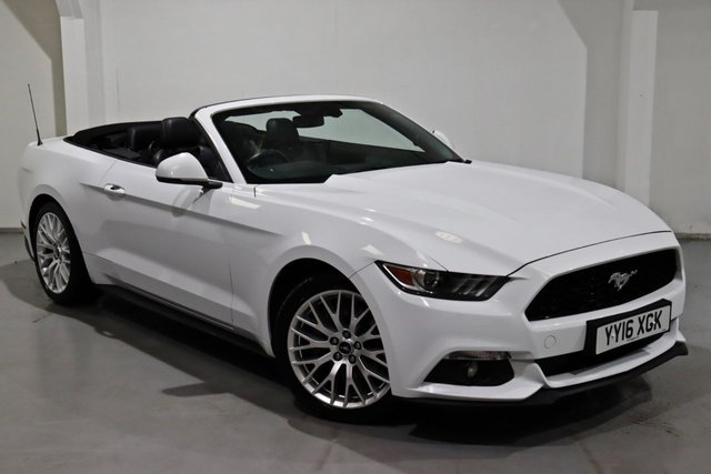 2016 16 FORD MUSTANG 2.3 ECOBOOST 2d 313 BHP