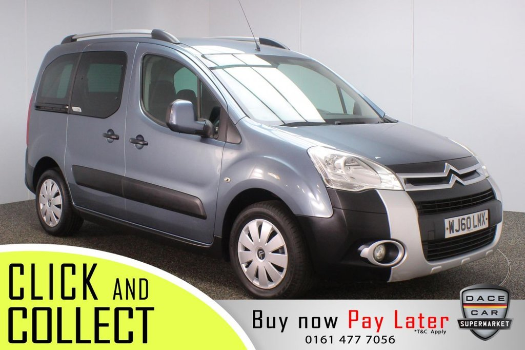 USED 2010 60 CITROEN BERLINGO 1.6 MULTISPACE XTR HDI 5DR 90 BHP + WHEEL CAR ACESSIBLE VEHICLE SERVICE HISTORY + WHEELCHAIR ACCESSIBLE VEHICLE + AIR CONDITIONING + RADIO/CD + PRIVACY GLASS + ELECTRIC WINDOWS + ELECTRIC MIRRORS