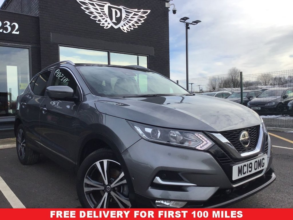 USED 2019 19 NISSAN QASHQAI 1.3 DIG-T N-CONNECTA 5d 140 BHP