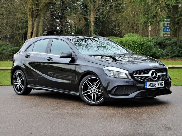 USED 2018 18 MERCEDES-BENZ A-CLASS 1.6 A 160 AMG LINE 5d 102 BHP £205 PCM With £1399 Deposit