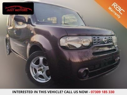 USED 2007 07 NISSAN CUBE 1.5 L PETROL AUTOMATIC 5 SEATER CHOICE OF 3 |PRISTINE|IMPORT