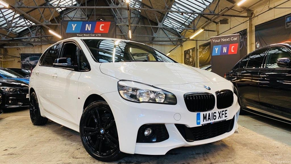 USED 2016 16 BMW 2 SERIES 2.0 218d M Sport Active Tourer (s/s) 5dr YNCSTYLING+18S+HEATEDLEATHER