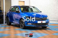 USED 2017 17 SKODA FABIA 1.2 MONTE CARLO TSI 5d 89 BHP Two Owners | Three Service Stamps