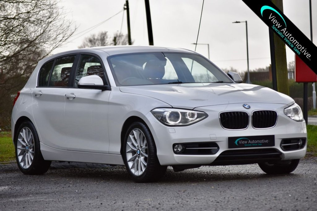 USED 2012 12 BMW 1 SERIES 2.0 120D SPORT 5d 181 BHP