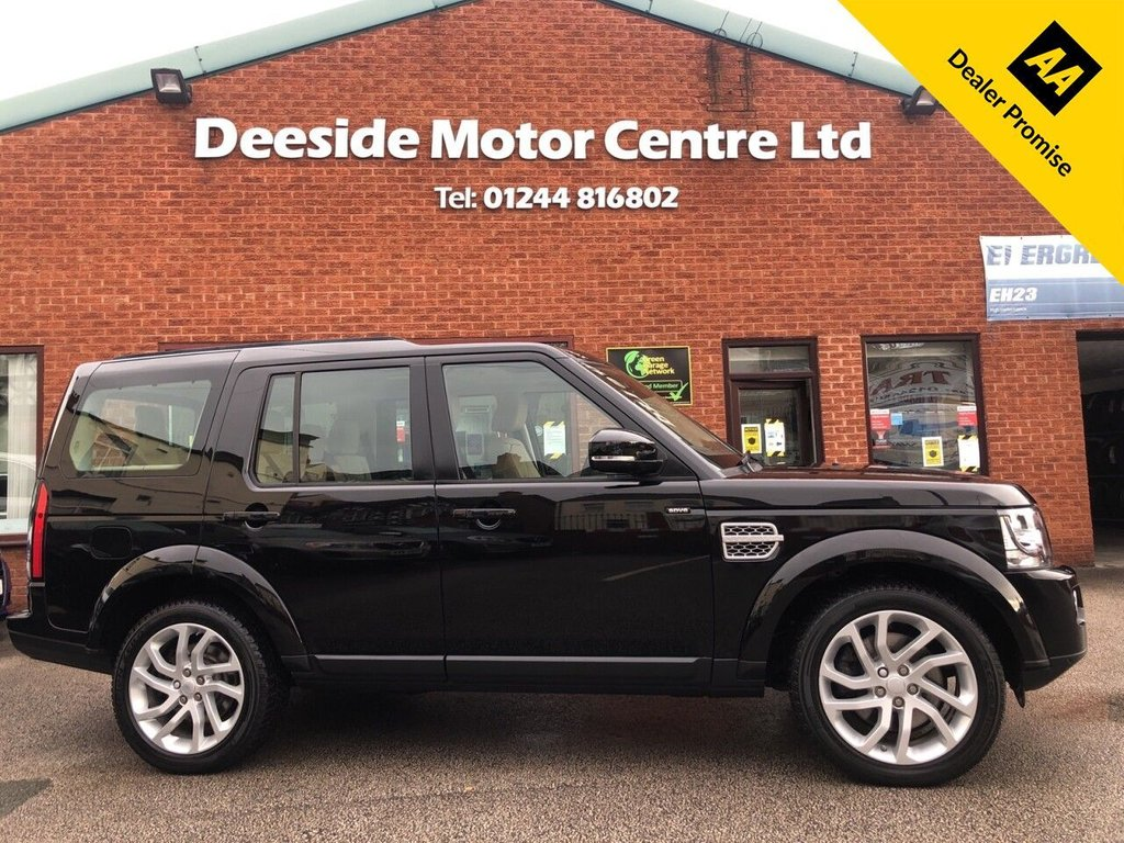 USED 2015 15 LAND ROVER DISCOVERY 3.0L SDV6 HSE 5d AUTO 255 BHP ONE OWNER,FULL SERVICE HISTORY