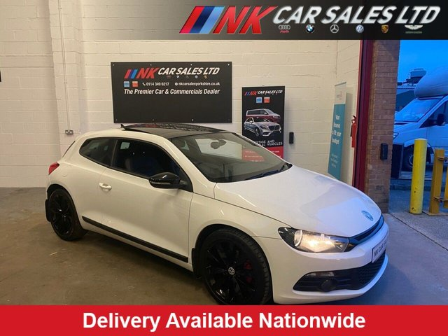 2012 12 VOLKSWAGEN SCIROCCO 2.0 GT TDI 2d 170 BHP PAN ROOF SAT NAV FULL LEATHERS SOLD TO CHARLIE FROM SCOTLAND