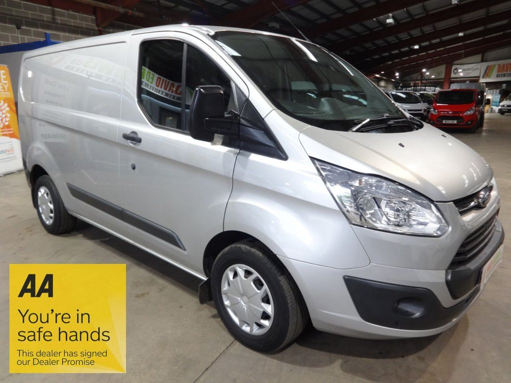USED 2017 66 FORD TRANSIT CUSTOM 2.0 290 TREND P/V 104 BHP L1 SWB VAN - AIR CON -  EURO 6 - - AA DEALER PROMISE - TRADING STANDARDS APPROVED -