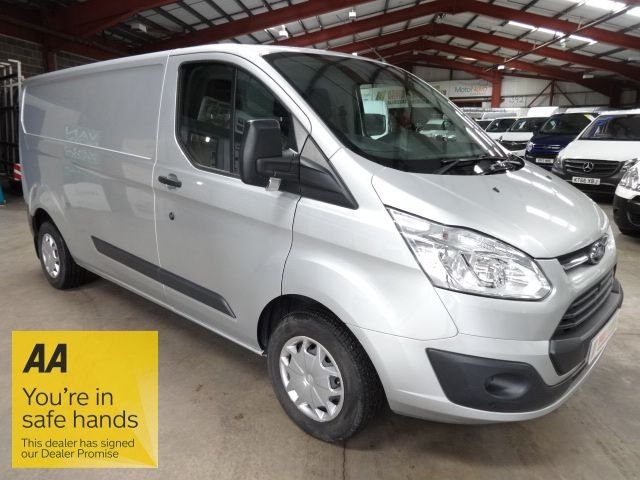 USED 2016 66 FORD TRANSIT CUSTOM 2.0 290 TREND P/V 104 BHP L1 SWB VAN - A/C - EURO 6 - - AA DEALER PROMISE - TRADING STANDARDS APPROVED -