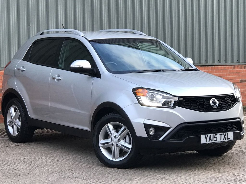USED 2015 15 SSANGYONG KORANDO 2.0 ELX4 5d 175 BHP EXCELLENT CONDITION AND FANTASTIC VALUE 4X4