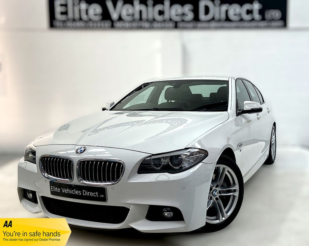USED 2016 66 BMW 5 SERIES 2.0 520D M SPORT 4d 188 BHP