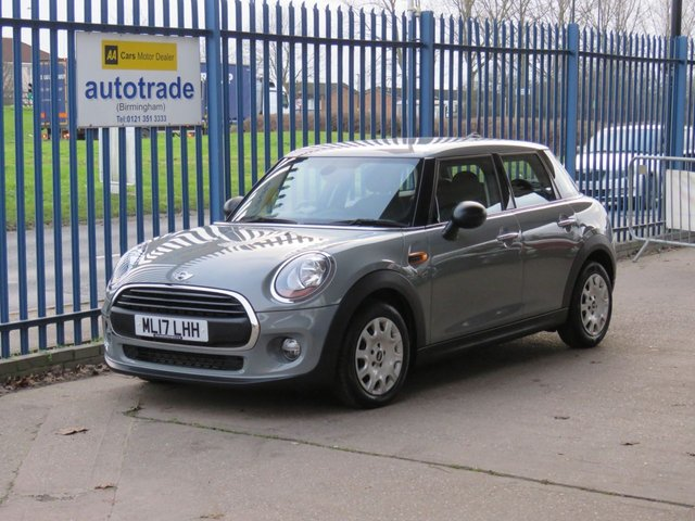 USED 2017 17 MINI HATCH ONE 1.2 ONE 5d 101 BHP DAB Radio & Air Con £30 Road Tax-ULEZ Compliant-Great Economy